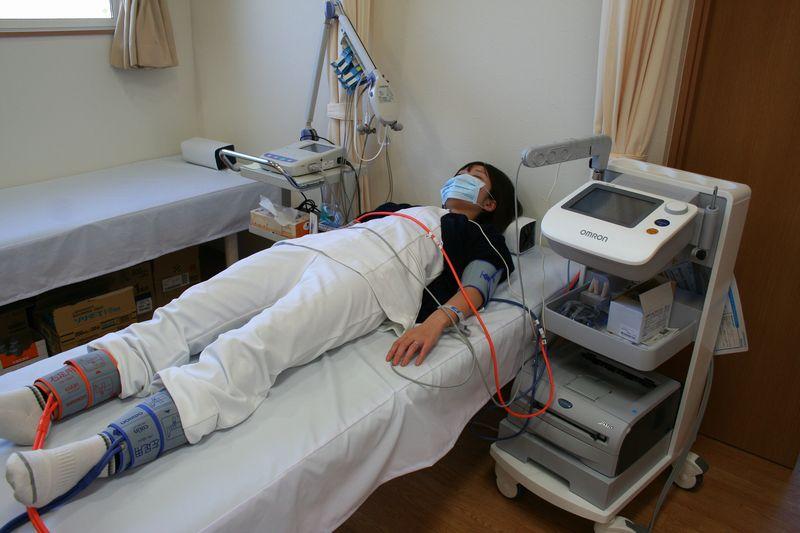 血圧脈波検査(血管年齢検査)