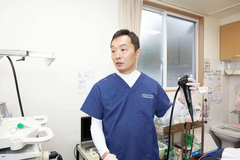 胃内視鏡検査の専門医が実施します